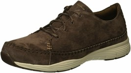 Skechers Women's Seager-Prospect-Moc-Toe Whipstitched Lace-up Sneakers  ... - £27.82 GBP
