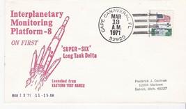 IMP-8 ON FIRST SUPER SIX LONG TANK DELTA CAPE CANAVERAL FL MAR 13 1971 - $1.78