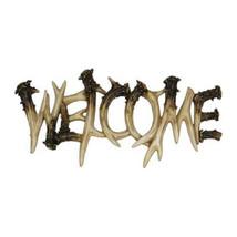 Rivers Edge Deer Antler Theme WelcomePlaque 1382 - $28.94