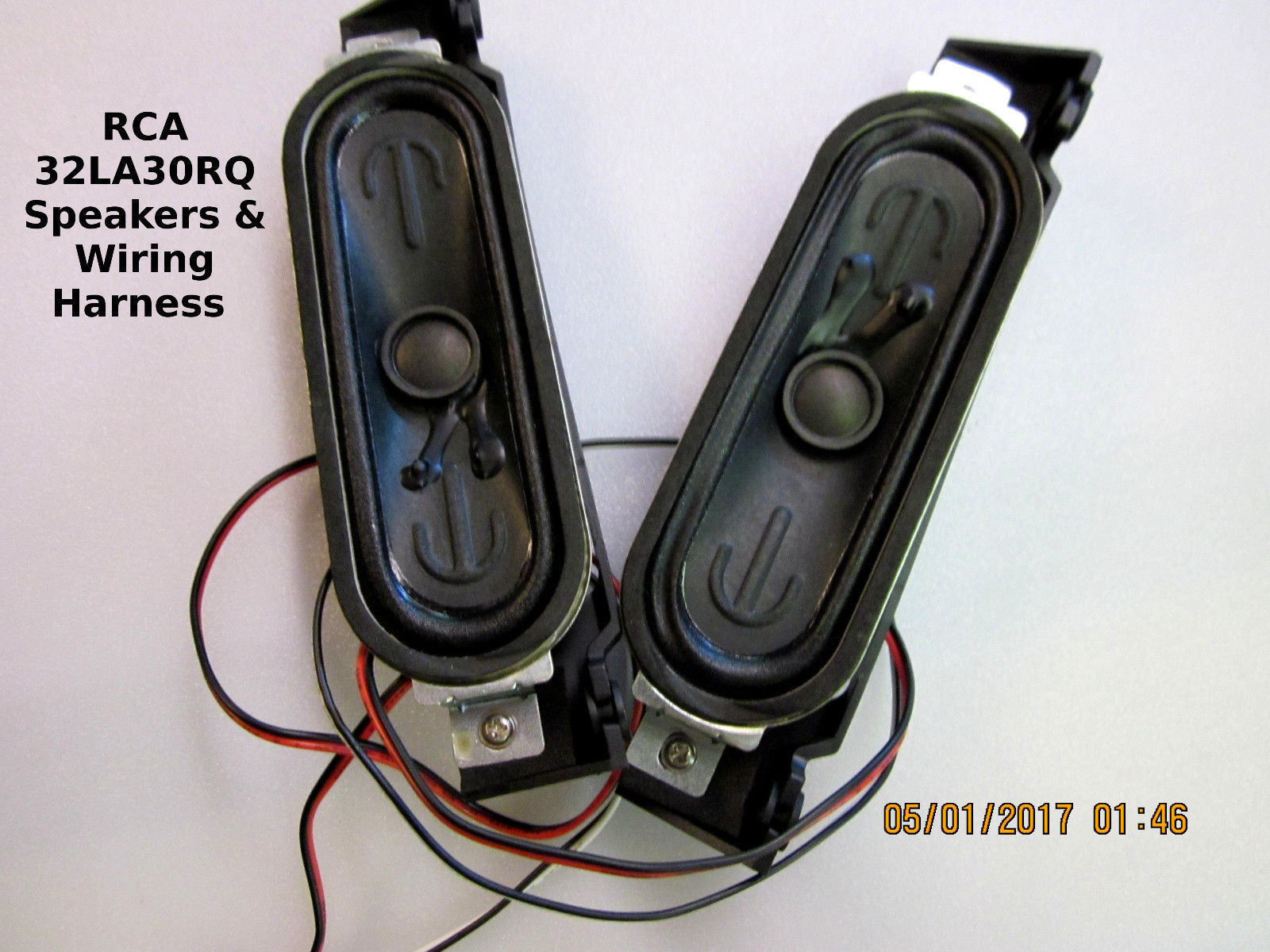 Rca Dvd Player 374 Listings Wiring Harness 32la30rq Speakers 8 Ohms 10 Watts With Mounts 1220