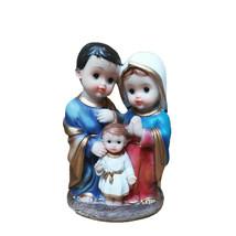 Christmas Resin Jesus Maria Joseph's Holy Family Figurine Home Decoratio... - $22.67