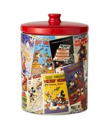Disney Mickey Mouse Poster Collage Canister Ceramic Cookie Jar NEW UNUSED - $38.69