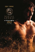 Mortal Kombat Poster 2021 Simon McQuoid Cole Young Film Art Print 24x36 ... - $10.90+