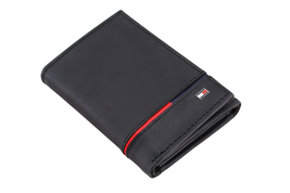 Tommy Hilfiger Men's Leather RFID Extra Capacity Trifold Wallet 31TL110044 image 6