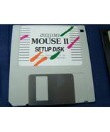 vintage super MOUSE II setup disk floppy disc software driver version 8.20 - $29.69