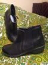 Easy Spirit Brenley Explorer 24 Women's Black Ankle Boots Elastic Sides Sz 7M - $29.69