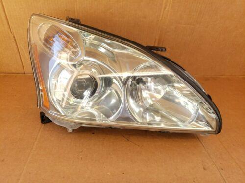 04-09 Lexus RX330 RX350 HID Xenon AFS Headlight Passenger Side RH POLISHED