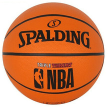 """Spalding NBA Triple Threat Basketball Official Game Ball Size 7 / 29.5"""" ... - $35.99"""