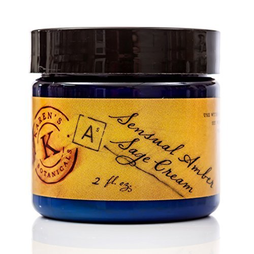 Primary image for Sensual Amber Sage Cream 2 Oz, Heartwarming, Nutritious, Deeply Moisturizing