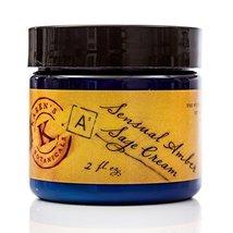 Sensual Amber Sage Cream 2 Oz, Heartwarming, Nutritious, Deeply Moisturi... - $21.28
