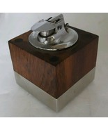 "Mid Century Danish Modern Varaflame ""Tivoli"" Table Lighter by Ronson - $114.81"