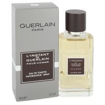 L'instant By Guerlain Eau De Toilette Spray 1.6 Oz For Men - $45.56