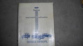 1992 FORD FESTIVA Service Repair Shop Workshop Manual OEM 92 BOOK 1992  - $11.01