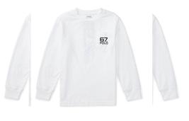 Polo Ralph Lauren Cotton Jersey Pocket Tee, Pure White, Size 3T - $19.79
