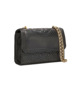 TORY BURCH Fleming Small Convertible Shoulder Bag 43834 Black Color - $220.00