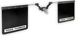 "Rock Tamers 00108 mudflap system 2"" hitch-mount universal adjustable mud... - $269.99"