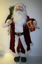Large size motion-ette Santa head and arms move - $45.46