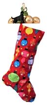 Christmas Ornament Stockings, Multi-colored Lined Xmas Stocking - $17.00