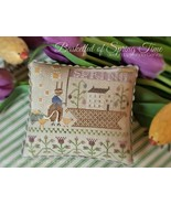 Basketful Of Spring Time cross stitch chart  With Thy Needle  - $12.00