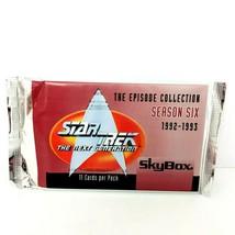 1997 Star Trek Next Genereation Skybox Cards Season Six One Pack Cards - $6.37