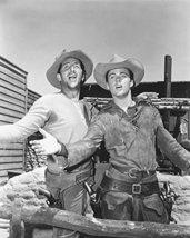 Dean Martin & Ricky Nelson 16X20 Canvas Giclee On Set Rio Bravo Singing - $69.99