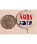 Nixon Agnew Pinback Button Political Richard Nixon President Vintage Spiro - $5.93