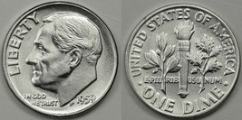 1959 P & D Brilliant UNC and 1959 Proof Silver Roosevelt Dimes CP1624 - $15.75