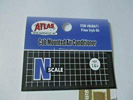 Atlas #BLMA71 Cab Mounted Air Conditioner Prime Style Kit N-Scale image 4
