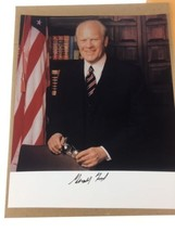Gerald Ford Presidential Signed 8x10 Photograph Autograph White House En... - $49.49