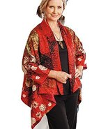 Smithsonian Reversible Floral Art Jacket - One Size - $123.74