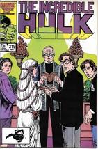 The Incredible Hulk Comic Book #319 Marvel 1986 FINE+ - $1.99