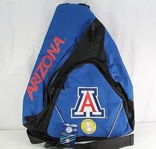 University of Arizona Wildcats Sling Backpack Teardrop Blue/Black Colleg... - ₹2,488.38 INR