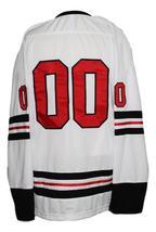 Any Name Number Columbus Owls Retro Hockey Jersey New Sewn White Any Size image 5