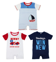 StylesILove Cute Characters Baby Boy Costume Jumpsuit - 3 Colors - $11.99
