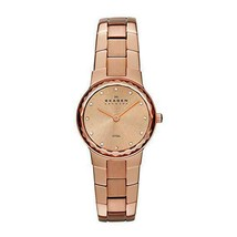 Skagen Rose Dial Rose Gold-tone Ladies Watch Skw2074 - $88.20