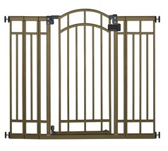 Extra Tall Decorative Walk-thru Baby Or Pet Safety Gate 28 To 48 Inch Ga... - $71.46