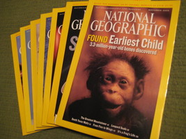 Original Vintage 2006 Lot of 7 NATIONAL GEOGRAPHIC Magazines - $14.43