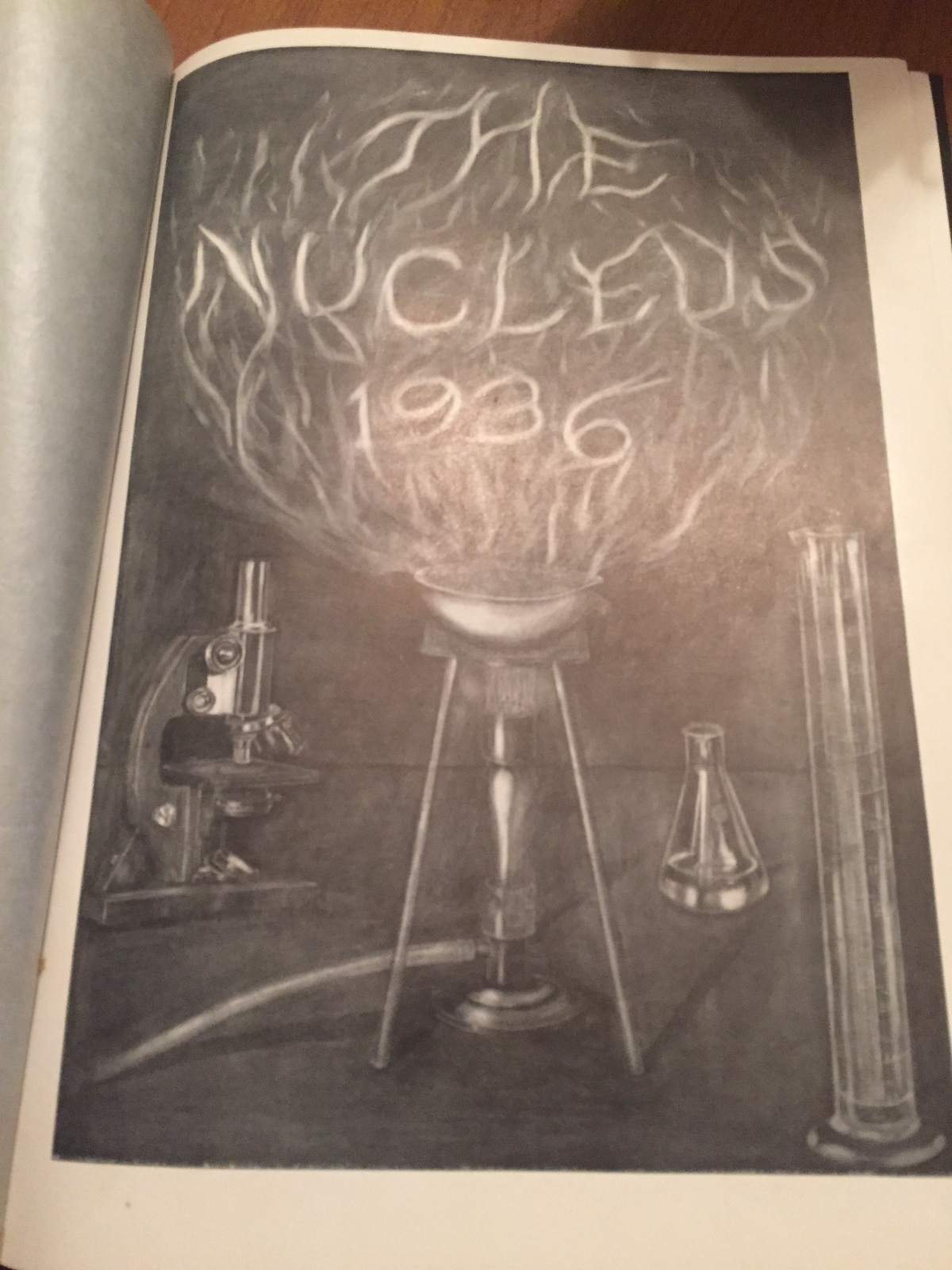 The Nucleus 1936 yearbook drh114