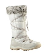 TIMBERLAND 2161R CHILLBERG OVER THE CHILL WOMEN'S WHITE WATERPROOF WINTER BOOTS - $93.49