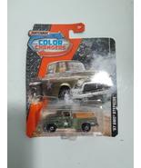 Matchbox Color Changers 57 GMC Stepside Army Truck Diecast 1:64 - $4.95