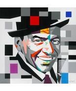 Frank Sinatra Painting by Gerardo Mendez Patricio - $800.00+