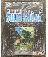 Konami Msx2 Cartridge Rom Software 4988602553932 Metal Gear 2 Solid Snak... - $546.93