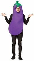Eggplant Adult Costume Food Vegetable Purple Halloween Party Unique  GC6311 - £39.44 GBP