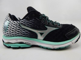 Mizuno Wave Rider 18 Size 6.5 M (B) EU 36.5 Women's Running Shoes Black White