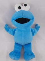 "Fisher Price Sesame Street Cookie Monster Plush 12"" Cloth Eyes Stuffed A... - $4.95"