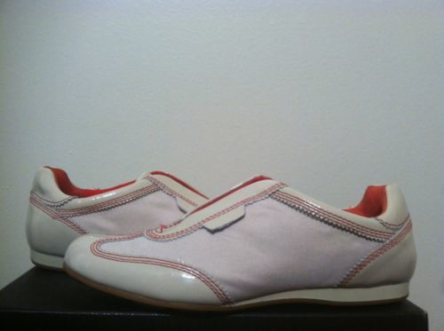 753e7b3065f 12. 12. Previous. Cole Haan Air Tali Gore Palomino Nylon Patent Leather  Women's Slip On shoes 6 M