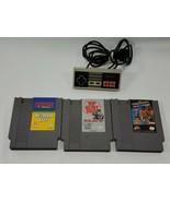 NES game controller lot Japan wrestlemania challenge superspike v-ball g... - $21.78
