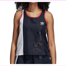 Adidas Women's Round Neck Perfect Fit Originals Active Icons OG Tank Top  - $20.31