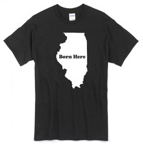 "State Pride T-Shirt ""BORN HERE"" ~CA/KS/NJ/MA/NV/AR/AK/FL/ID/MT/OH/AZ/OR/... - $17.34+"