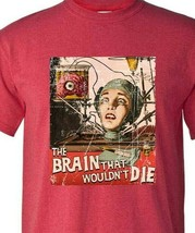 The Brain That Wouldnt Die T-shirt vintage sci fi horror film distressed tee image 2